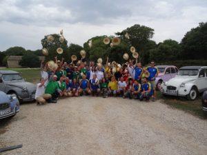 Journée cohésion – Rallye 2CV autour du Pic saint Loup – client GGL