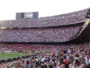 Top 14 2016 - Match à Barcelone