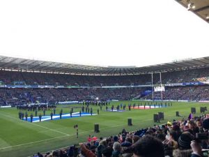 Tournoi des 6 Nations 2018 - Ecosse vs France